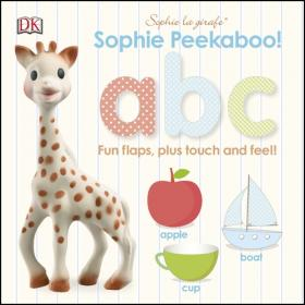 Купить Sophie La Girafe Peekaboo ABC,