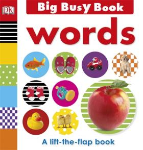 Big Busy Book Words my own very busy spider coloring book