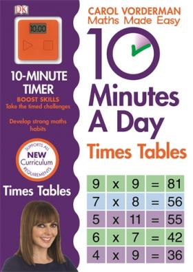 Math Made Easy 10 Minutes A Day Multiplication Grade 3 To 5 math made easy first grade