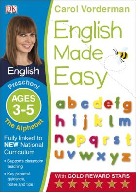 English Made Easy: The Alphabet Preschool Ages 3-5 easy learning speak french with cdx2