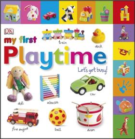 My First Playtime Let's Get Busy! my own very busy spider coloring book