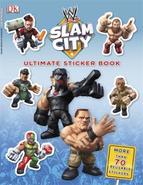 Ultimate Sticker Book:  WWE Slam City ultimate sticker books dog