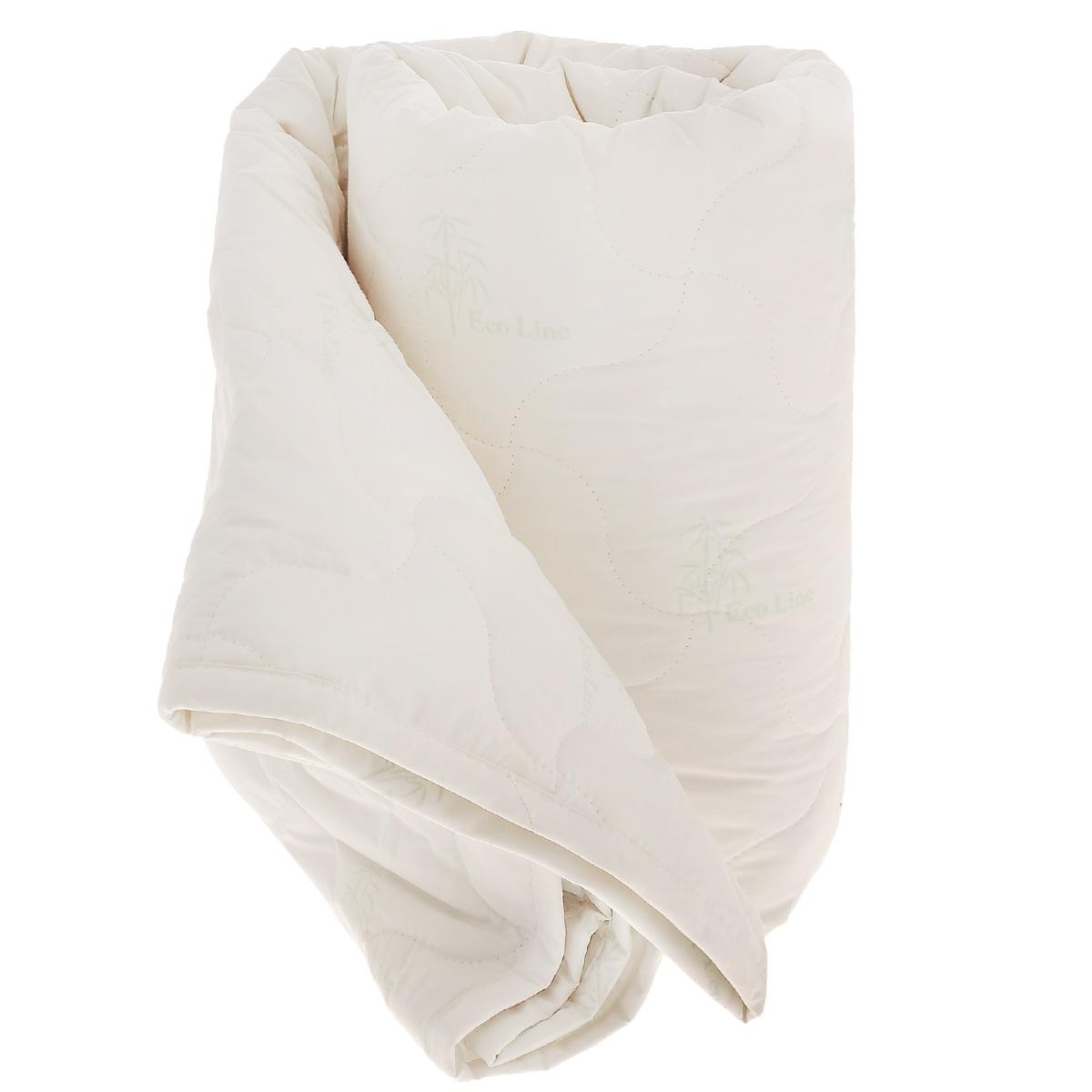 Одеяло La Prima Бамбук, наполнитель: бамбук, полиэфирное волокно, цвет: бежевый, 170 х 205 см1012/0222814/100Одеяло La Prima Бамбук - лучшим выбором для комфортного и здорового сна и отдыха. Чехол выполнен из 100% хлопка - тика ECO Line. Наполнитель - бамбуковое волокно. Бамбуковое волокно - натуральный растительный наполнитель, обеспечивающий комфорт и здоровый сон. Уникальная пористая структура волокна позволяет свободно дышать - создает эффект свежести во время сна. Одеяло обладает естественными антибактериальными свойствами, успокаивает и восстанавливает во время сна, гипоаллергенно. Материал чехла: 100% хлопок. Наполнитель: 40% бамбук, 60% полиэфирное волокно. Размер: 170 см х 205 см.