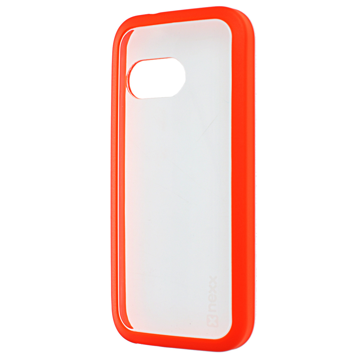 Nexx Zero чехол для HTC M8 mini, Orange protective plastic back case for htc one mini m4 pink