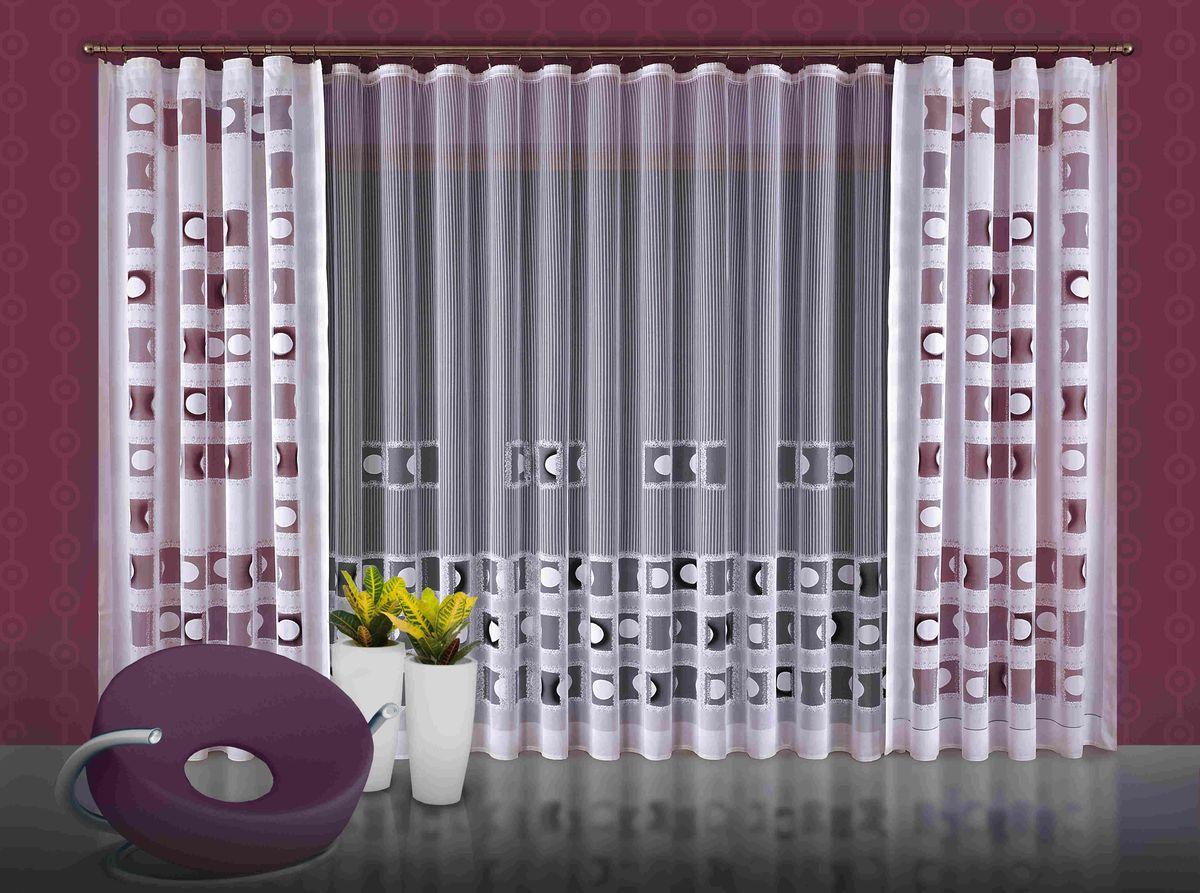 Комплект штор WISAN 600*250+160*250*2. 61166116Комплект штор WISAN 600*250+160*250*2. 6116Материал: 100% п/э, размер: 600*250+160*250*2, цвет: белый
