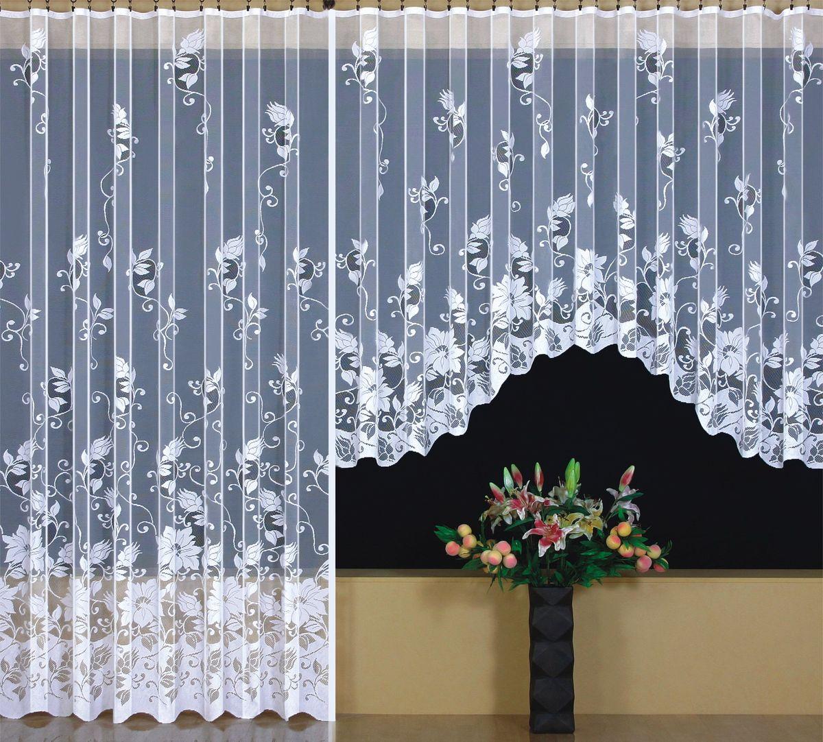 Комплект гардин для балк.двери WISAN 300*160+200*250. 9415+94139415+9413Комплект гардин для балк.двери WISAN 300*160+200*250. 9415+9413Материал: 100% п/э, размер: 300*160+200*250, цвет: белый