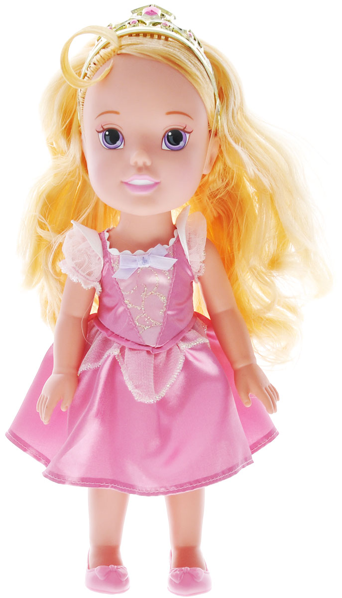 Disney Princess Кукла My First Disney Princess Малышка Аврора цвет платья светло-розовый disney princess мини кукла тиана цвет платья светло зеленый