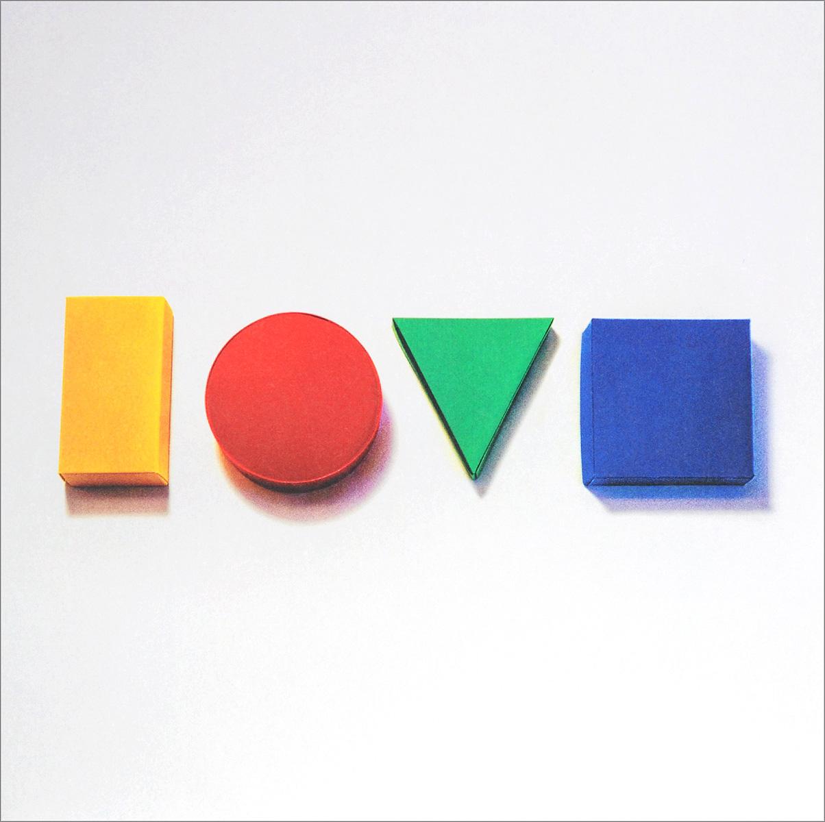Джейсон Мрэз Jason Mraz. Love Is A Four Letter Word (2 LP) men tape side letter print drawstring pants