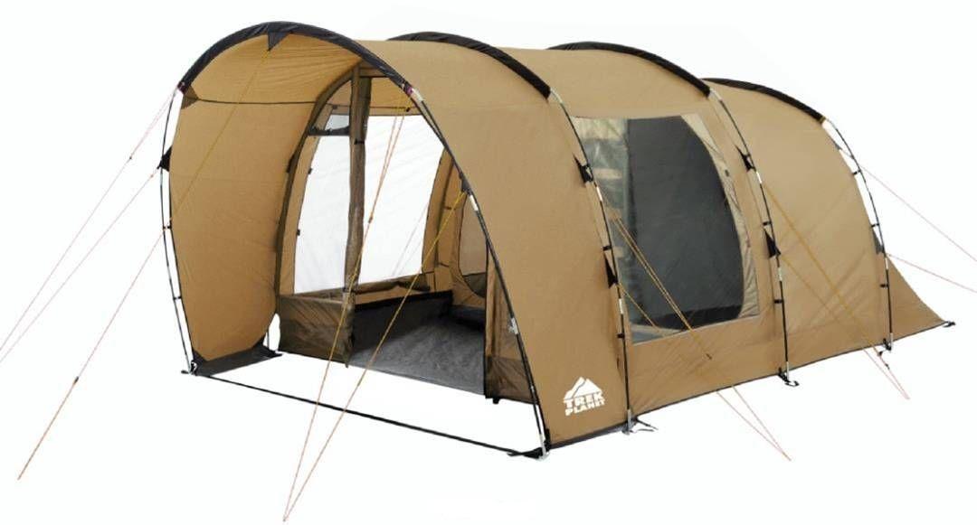 Палатка четырехместная TREK PLANET Calgary 4, цвет: песочный палатка четырехместная trek planet hudson 4 цвет серый оранжевый