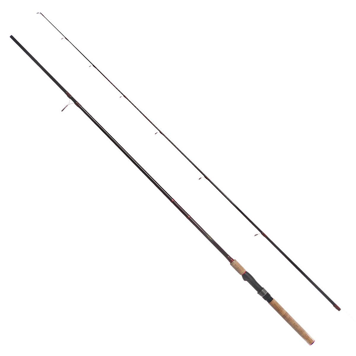 Удилище спиннинговое Daiwa Vulcan-AR, штекерное, цвет: черный, 2,59 м, 5-28 г