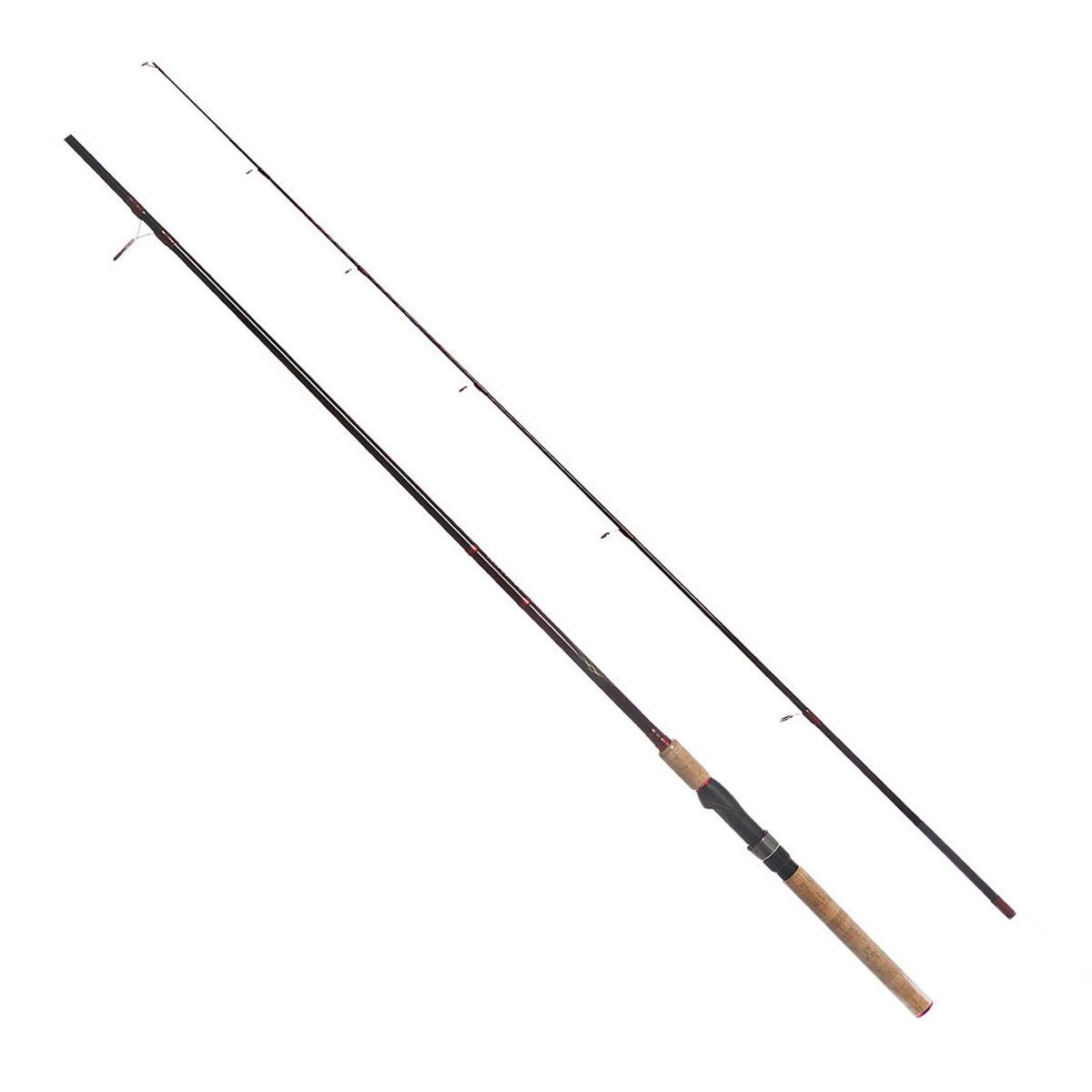 Удилище спиннинговое Daiwa Vulcan-AR, штекерное, цвет: черный, 2,13 м, 5-15 г