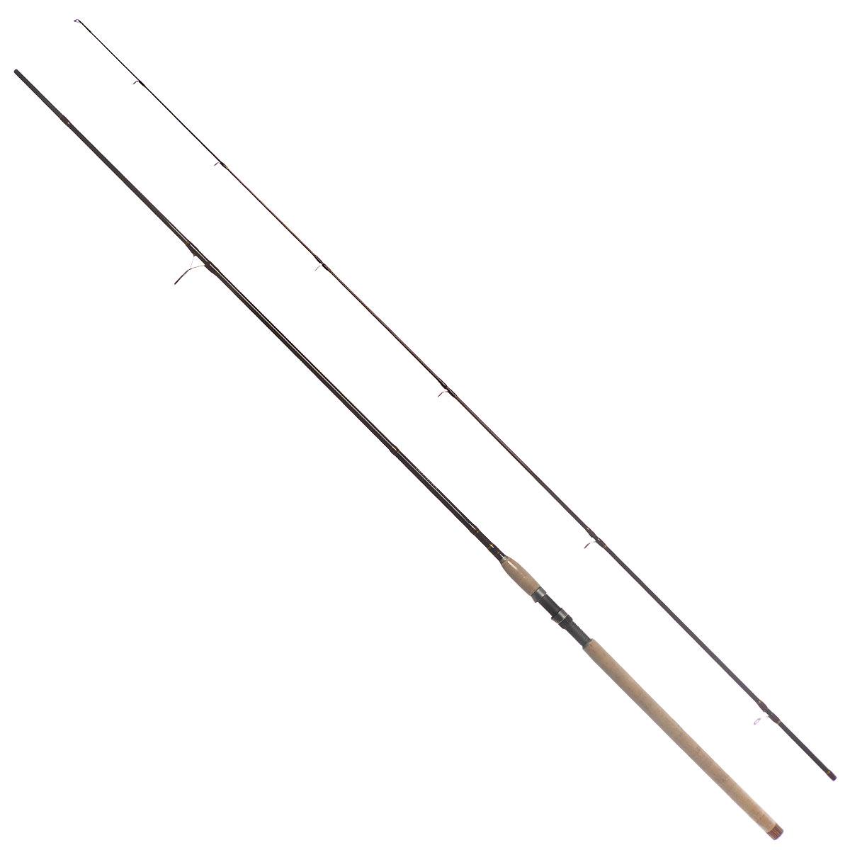 Удилище спиннинговое Daiwa New Exceler, штекерное, цвет: темно-коричневый, 2,4 м, 10-40 г
