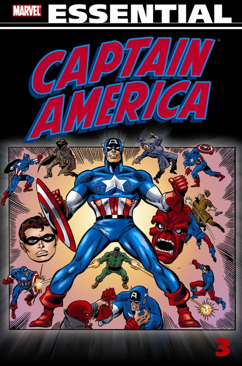 Essential Captain America, Vol. 3 (Marvel Essentials) the art of marvel vol 2