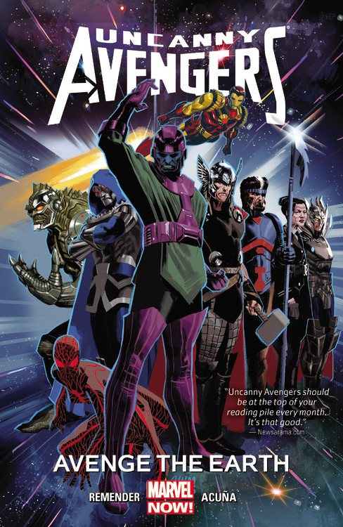 Uncanny Avengers Volume 4 uncanny avengers volume 5 axis prelude