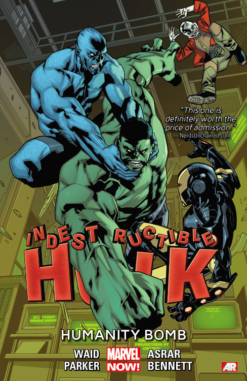 Indestructible Hulk: Volume 4: Humanity Bomb 20cm 2017 new avengers toys light rotate iron man hulk pvc action figure model toys brinquedos kids gift original box