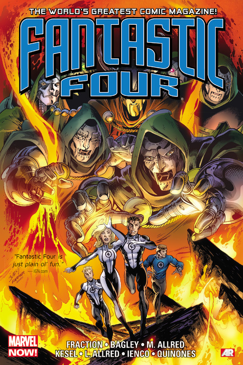 Fantastic Four by Matt Fraction Omnibus defenders by matt fraction volume 2