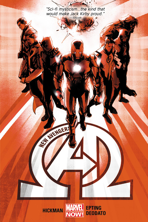 New Avengers by Jonathan Hickman Volume 1 all new x men volume 6
