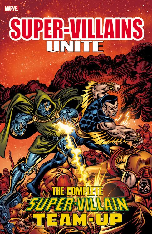 Super-Villains Unite villains omnibus