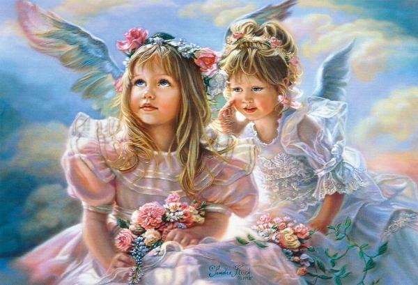 Пазл Ангелы, 500 элементов. B-51762