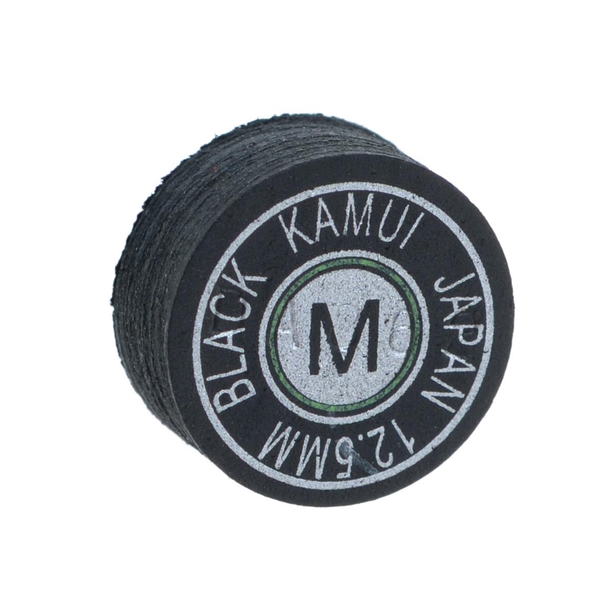 Наклейка для кия Kamui  Black , средняя жесткость, 12,5 мм - Бильярд