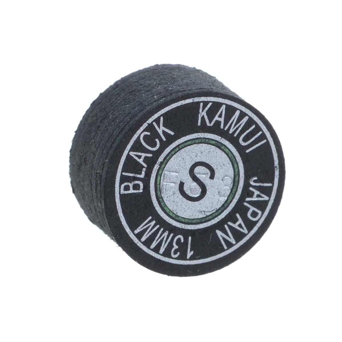 Наклейка для кия Kamui  Black , мягкая, 13 мм - Бильярд