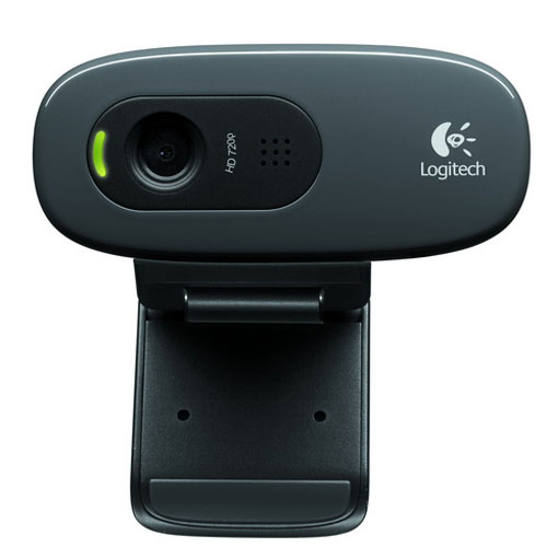 Logitech C270 Webcam, Black веб-камера (960-000636) - Веб-камеры