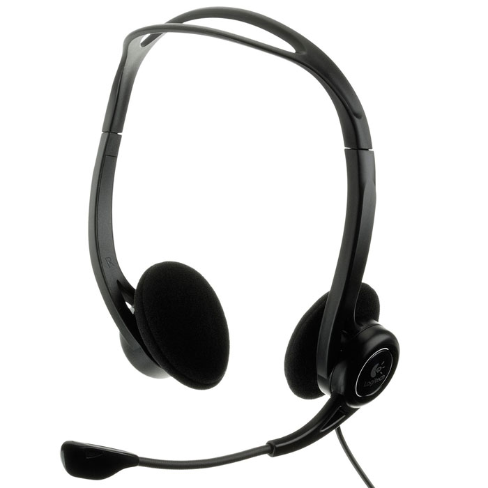 Logitech PC Headset 960 USB гарнитура (981-000100)