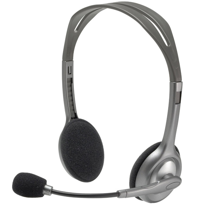 все цены на  Logitech H110 Stereo Headset гарнитура (981-000271)  онлайн