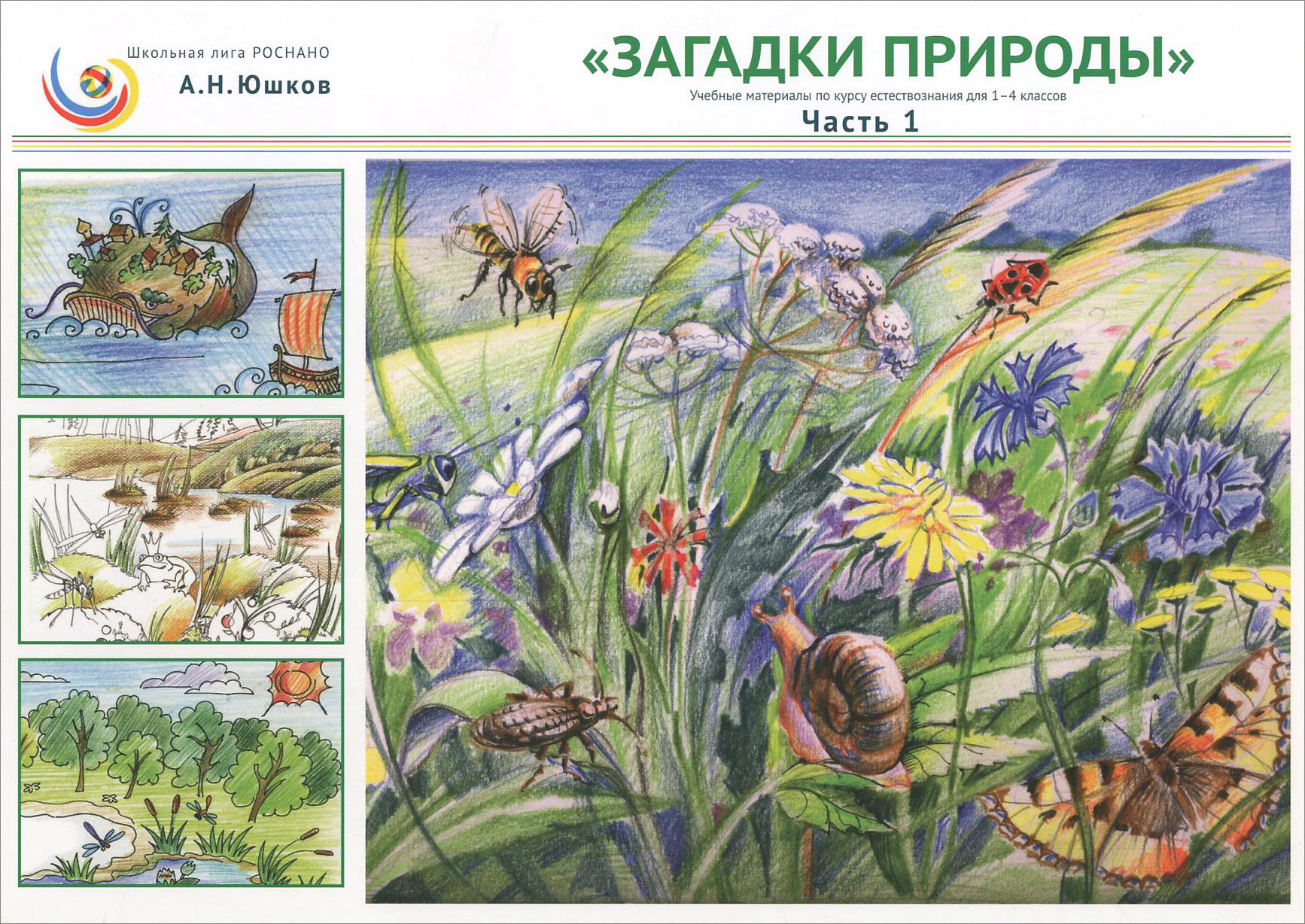 Загадки природы. 1-4 классы. Учебные материалы по курсу естествознания.  Часть 1
