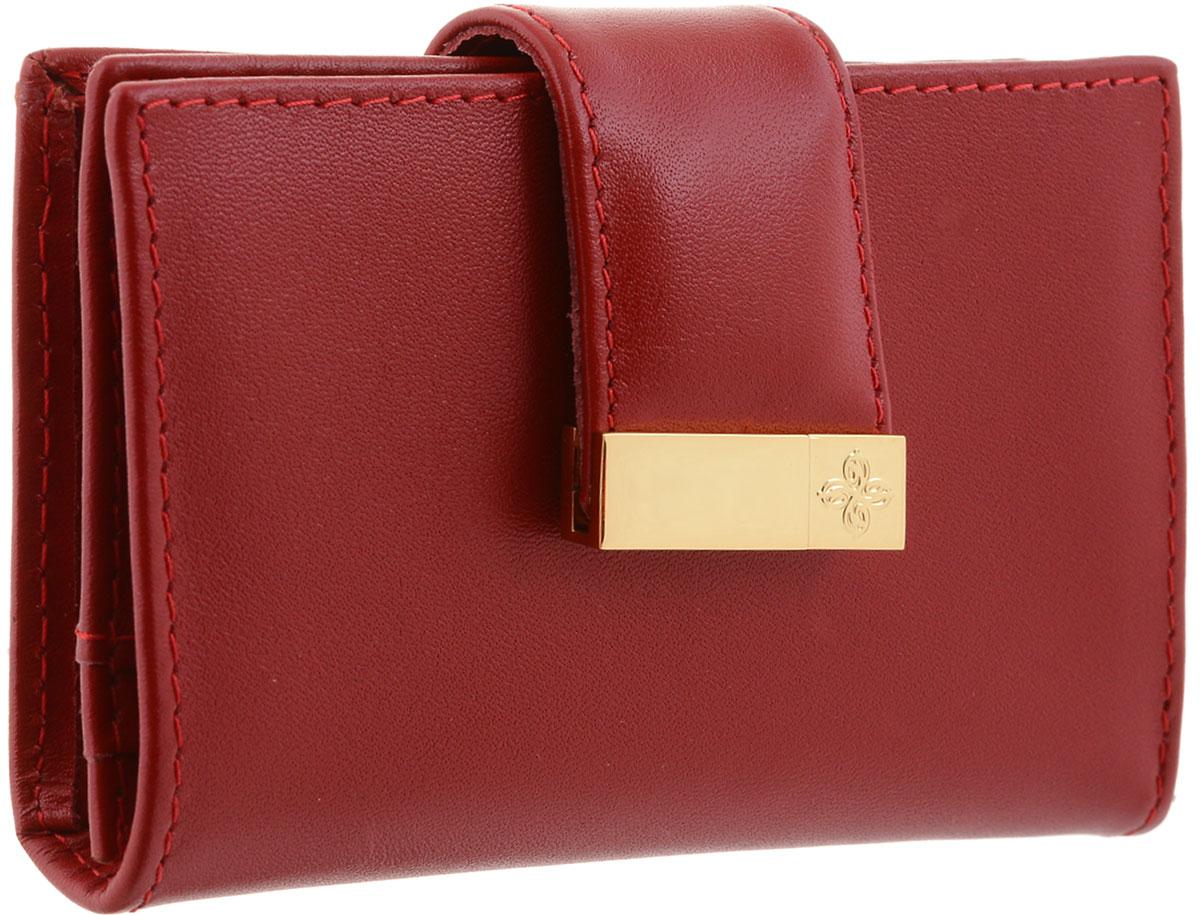 Визитница женская Dimanche, цвет: красный. 047 сумка dimanche dimanche di042bwydz35