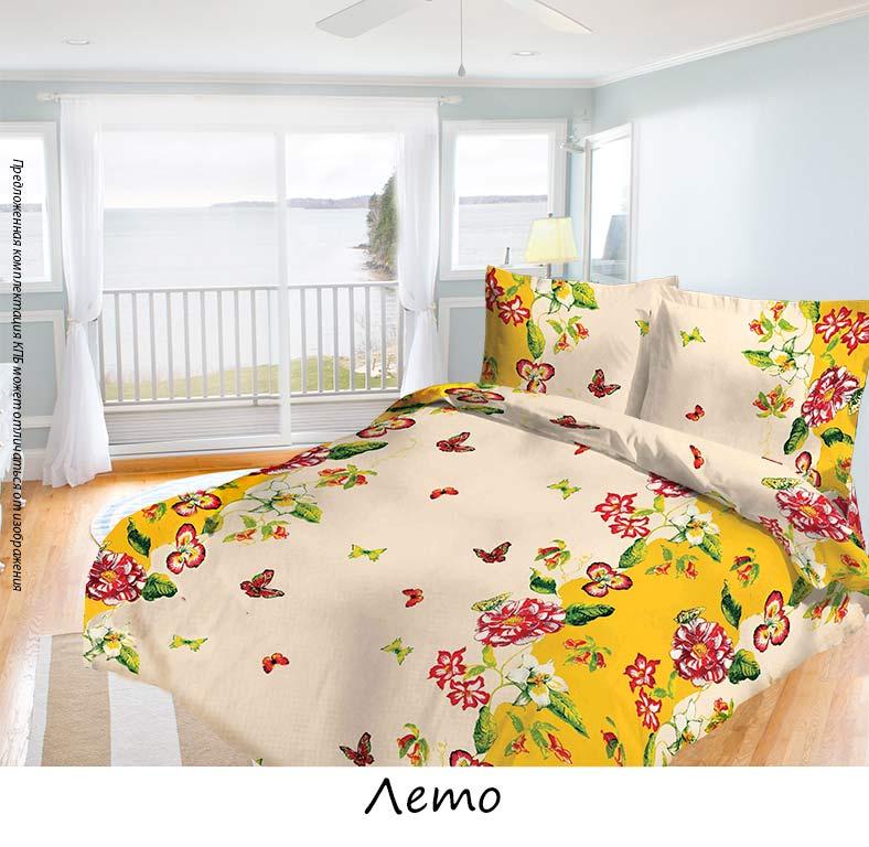Комплект белья Олеся Лето, семейный, наволочки 70х70, цвет: бежевый, желтый. 2050115932 олеся мовсина про контра и цетера