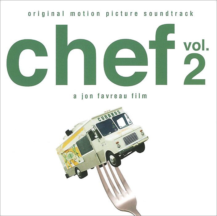 Chef. Vol. 2. Original Motion Picture Soundtrack django unchained original motion picture soundtrack 2 lp