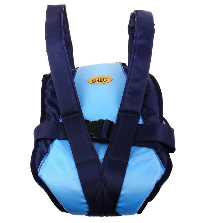 Рюкзак-кенгуру Selby  Классик , цвет: синий, голубой -  Рюкзаки, слинги, кенгуру