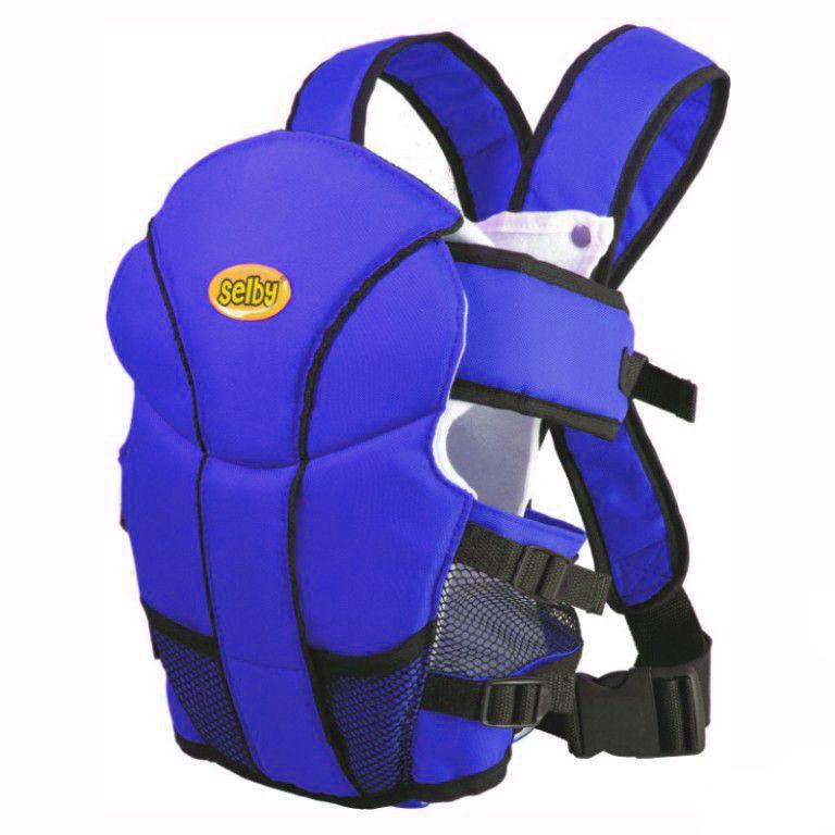 Рюкзак-кенгуру Selby  Люкс , цвет: синий -  Рюкзаки, слинги, кенгуру
