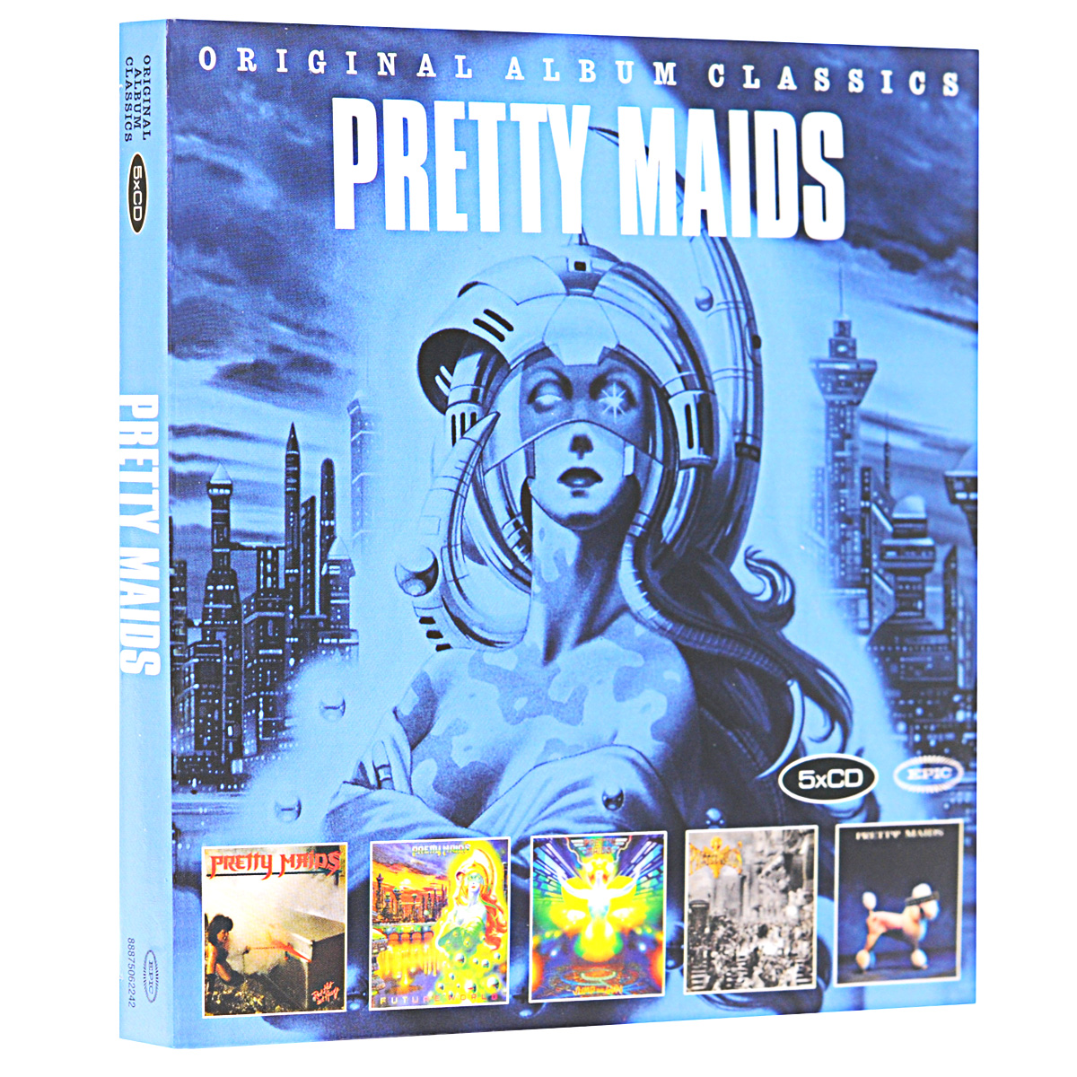 Pretty Maids Pretty Maids. Original Album Classics (5 CD) очаровательная живая одежда для новорожденных одежда для досуга maids maids funny stockings