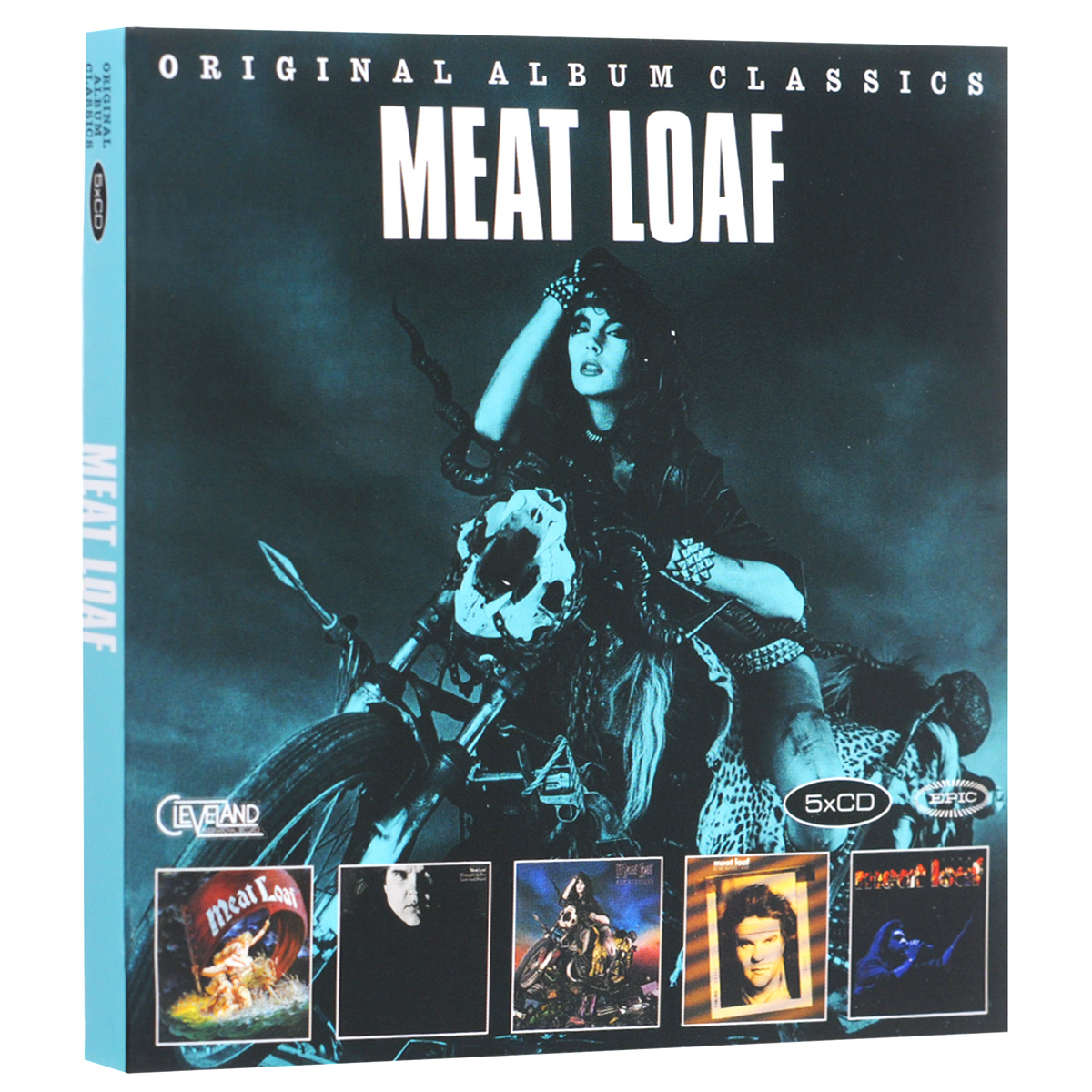 Мит Лоуф Meat Loaf. Original Album Classics (5 CD) cd сборник christmas classics
