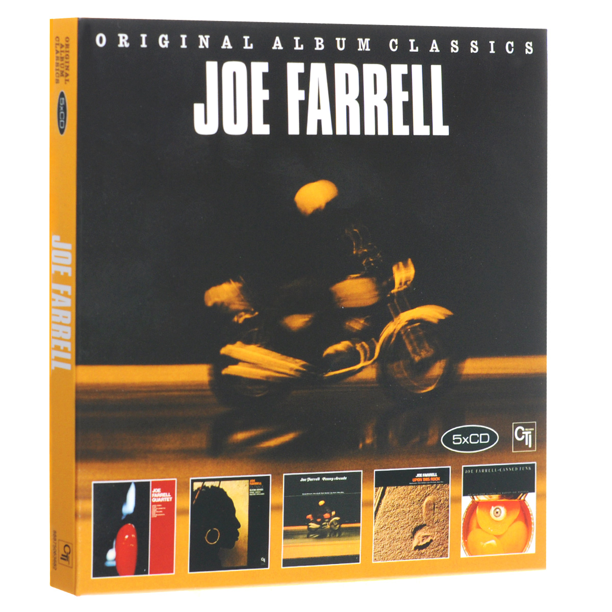 Джо Фарелл Joe Farrell. Original Album Classics (5 CD) quiet riot quiet riot original album classics 5 cd
