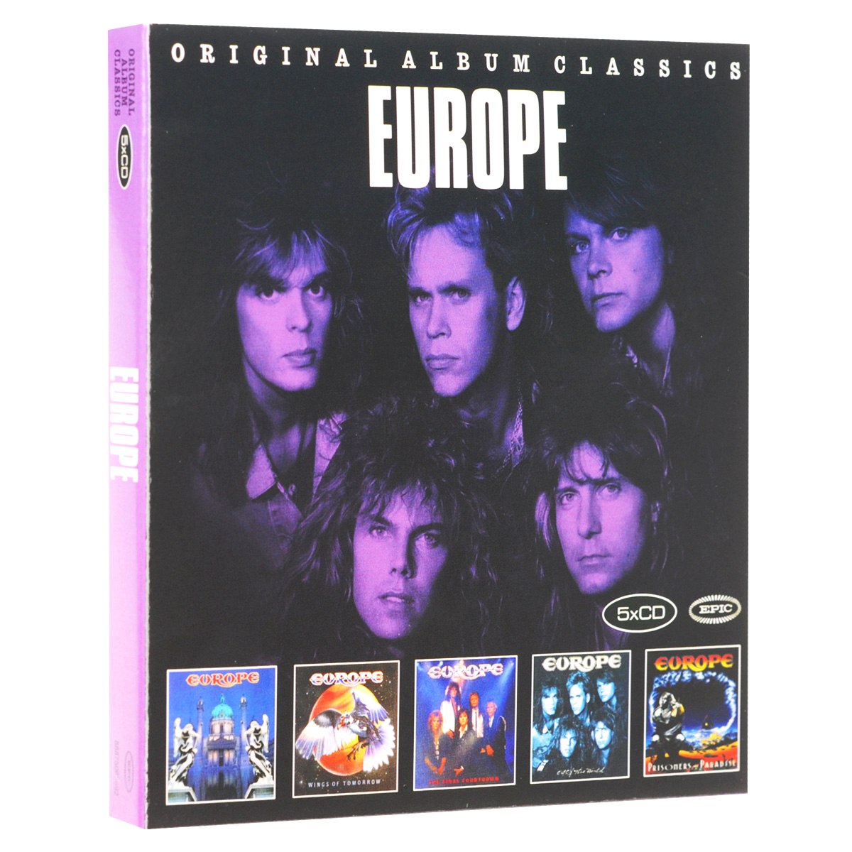 Europe Europe. Original Album Classics (5 CD) europe europe war of kings deluxe edition cd dvd