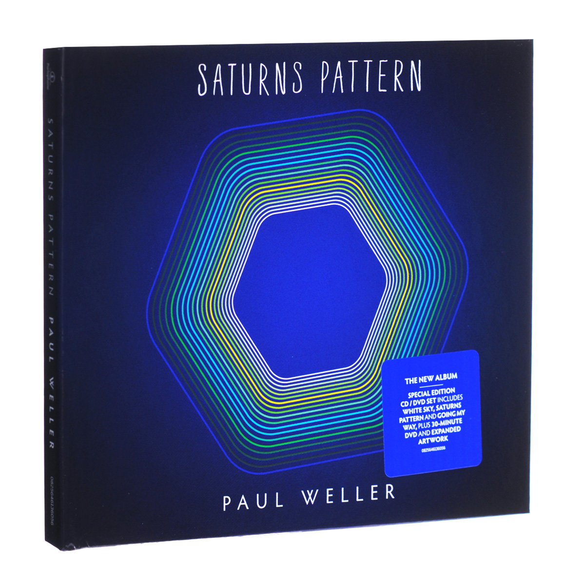 Пол Уэллер Paul Weller. Saturns Pattern (CD + DVD) stylish digital camouflage pattern 5cm width coffee color tie for men