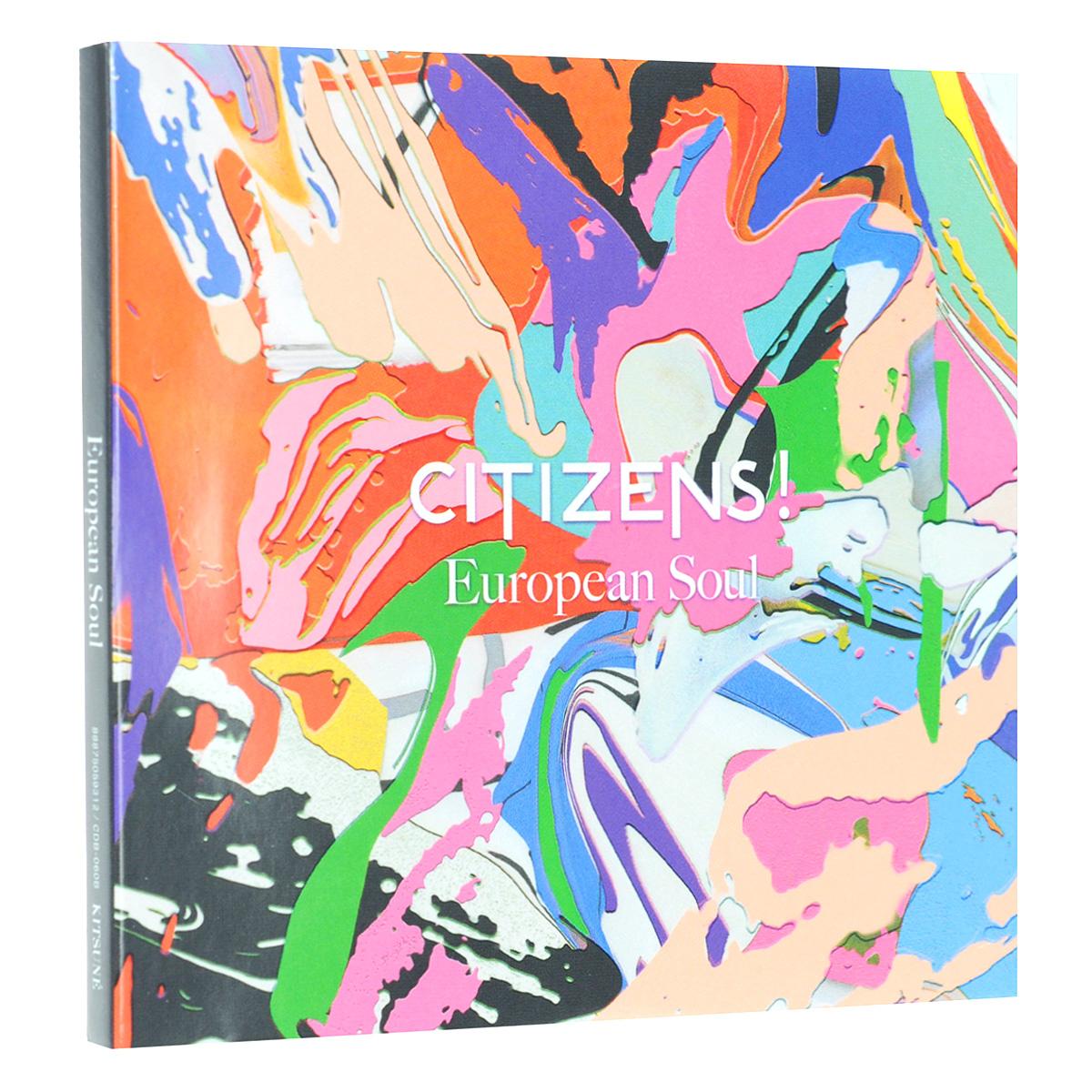 Citizens! Citizens! European Soul (2 CD) maison kitsune palais royal aqua verde