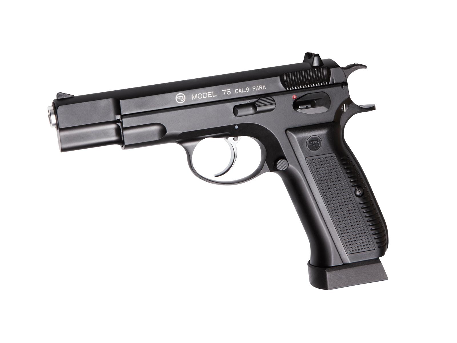 Пистолет пневматический ASG CZ 75 Blowback, калибр 4,5 мм.17619 asg cz 75 p 07 duty dt