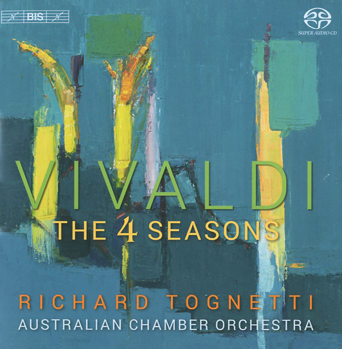 Ричард Тогнетти,Australian Chamber Orchestra Richard Tognetti. Australian Chamber Orchestra. Vivaldi. The Four Seasons (SACD) the australian voices гордон гамильтон the australian voices