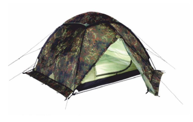 Палатка Talberg HUNTER PRO 4, цвет: камуфляжный