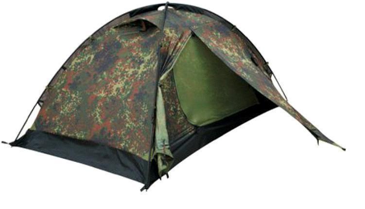 Палатка Talberg CAMO PRO 2, цвет: камуфляжныйУТ-000059411Легкая двухслойная одноместная палатка для велосипедных и пеших походов. Туристическая линия Talberg.Палатки Talberg Туристической линии были специально разработаны для походов в весеннее, летнее и осеннее время. В палатках этой серии используются материалы и конструкции, которые позволяют комфортно провести теплую летнюю ночь или переждать серьезную непогоду с сильным ветром и осадками. Состав материала: полиэстер, алюминий