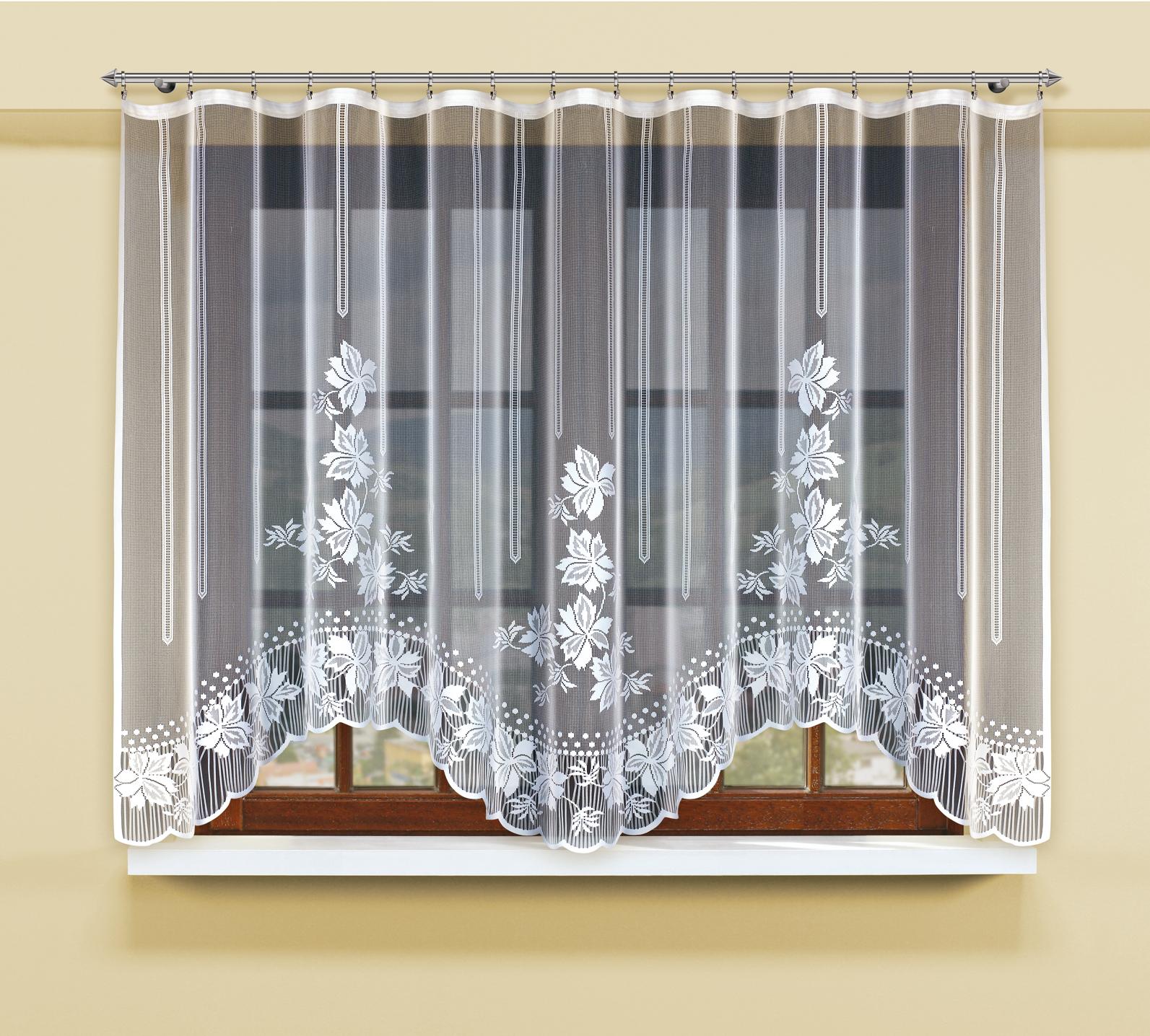 Гардина Haft, цвет: белый, высота 300 см211670/150Гардина Haft, изготовленная из полиэстера, станет великолепным украшениемлюбого окна. Изделие, оформленное цветочным орнаментом, привлечет к себе внимание и органичновпишется в интерьер комнаты. Оригинальное оформление гардины внесет разнообразие иподарит заряд положительного настроения.