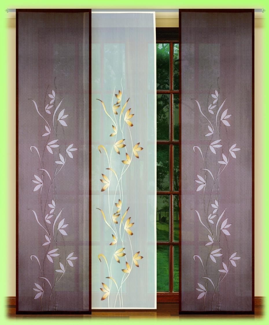 Гардина HAFT 250*60*3. 54152/25054152/250Гардина XAFT 250*60*3. 54152/250Материал: 100% п/э, размер: 250*60*3, цвет: крем/коричневый