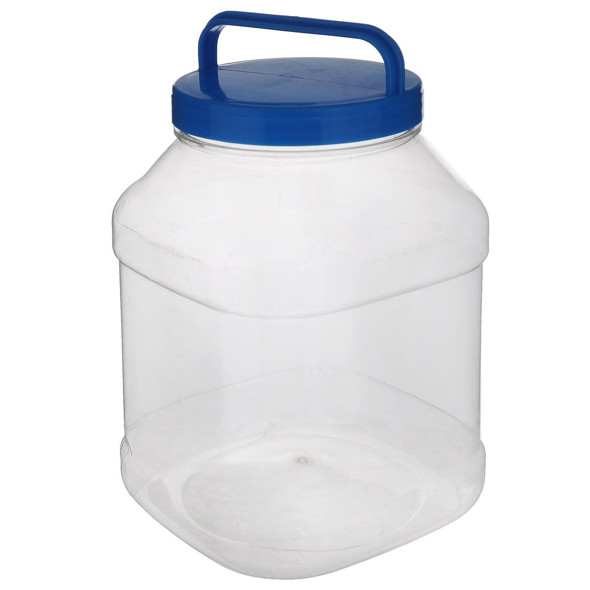 Бидон Альтернатива, прямоугольный, цвет: голубой, 3 лМ463Бидон Альтернатива предназначен для хранения и переноски пищевыхпродуктов, таких какмолоко, вода и т.д. Изделие выполнено из пищевого высококачественного ПЭТ.Оснащен ручкойдля удобной переноски. Бидон Альтернатива станет незаменимым аксессуаром на вашей кухне.Объем: 3 л. Диаметр (по верхнему краю): 10,5 см.Высота бидона (без учета крышки): 19 см. Размер дна: 15 см х 15 см.