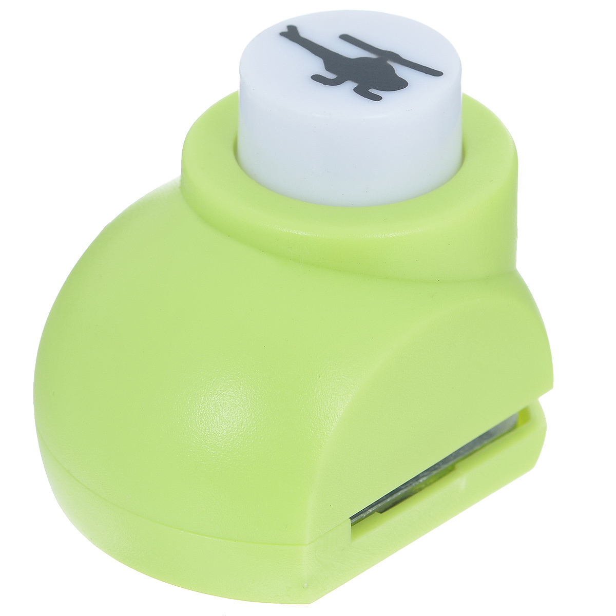 Дырокол фигурный Астра Вертолет. JF-8227709604_214Дырокол Астра Вертолет поможет вам легко, просто и аккуратно вырезать много одинаковых мелких фигурок. Режущие части компостера закрыты пластмассовым корпусом, что обеспечивает безопасность для детей. Можно использовать вырезанные мотивы как конфетти или для наклеивания.Дырокол подходит для разных техник: декупажа, скрапбукинга, декорирования.Размер дырокола: 4 см х 3 см х 4 см. Размер готовой фигурки: 1,3 см х 0,7 см.