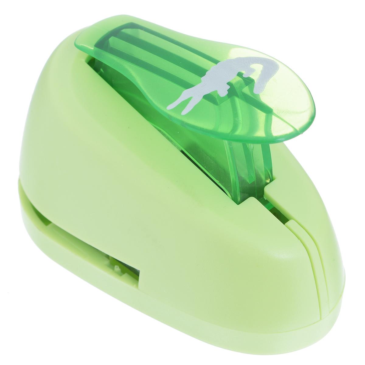 Дырокол фигурный Астра Крокодил. CD-99M7709605_52Дырокол Астра Крокодил поможет вам легко, просто и аккуратно вырезать много одинаковых мелких фигурок.Режущие части компостера закрыты пластмассовым корпусом, что обеспечивает безопасность для детей. Вырезанные фигурки накапливаются в специальном резервуаре. Можно использовать вырезанные мотивы как конфетти или для наклеивания. Дырокол подходит для разных техник: декупажа, скрапбукинга, декорирования.Размер дырокола: 8 см х 5 см х 5 см. Размер готовой фигурки: 2,4 см х 1,2 см.
