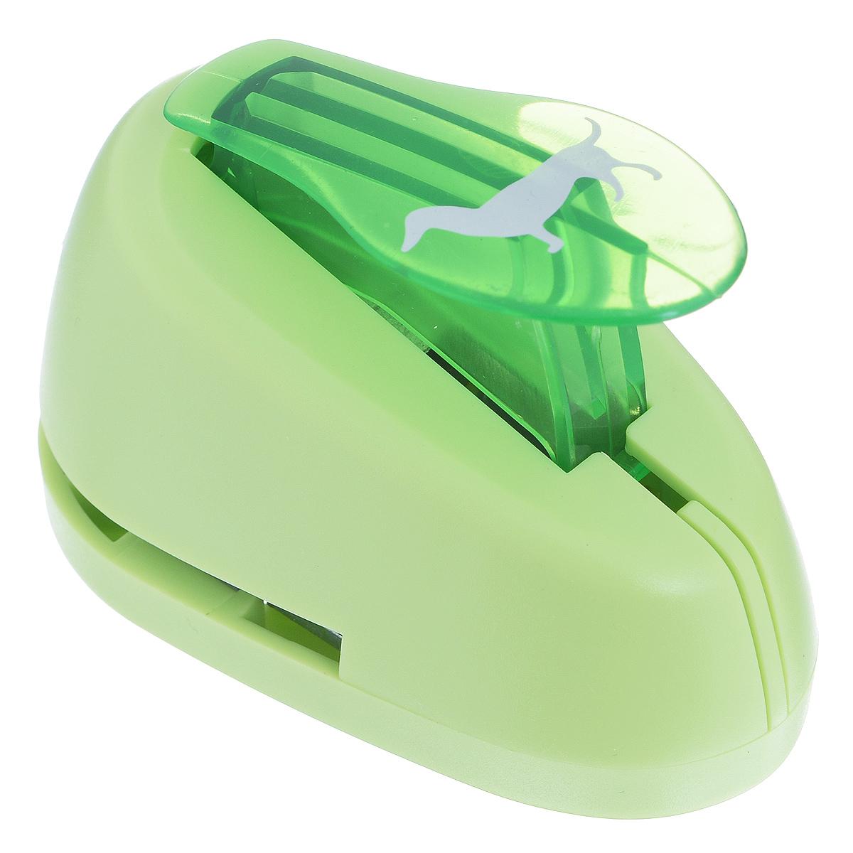 Дырокол фигурный Астра Такса. CD-99M7709605_53Дырокол Астра Такса поможет вам легко, просто и аккуратно вырезать много одинаковых мелких фигурок.Режущие части компостера закрыты пластмассовым корпусом, что обеспечивает безопасность для детей. Вырезанные фигурки накапливаются в специальном резервуаре. Можно использовать вырезанные мотивы как конфетти или для наклеивания. Дырокол подходит для разных техник: декупажа, скрапбукинга, декорирования.Размер дырокола: 8 см х 5 см х 5 см. Размер готовой фигурки: 2,3 см х 1,3 см.
